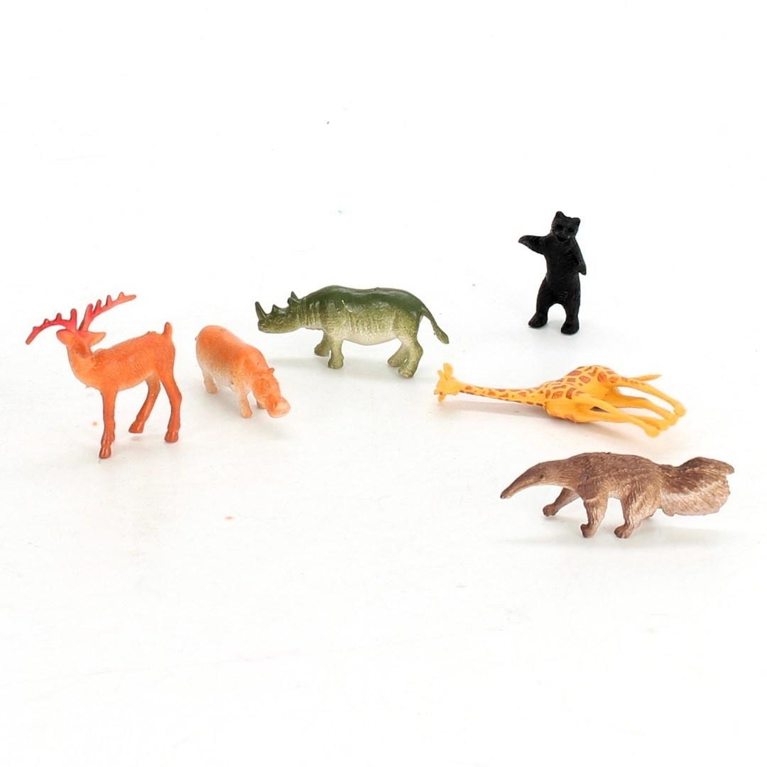 Figurky zvířat ze ZOO