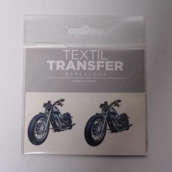 Obtisk Textil Transfer Barcelona motorky