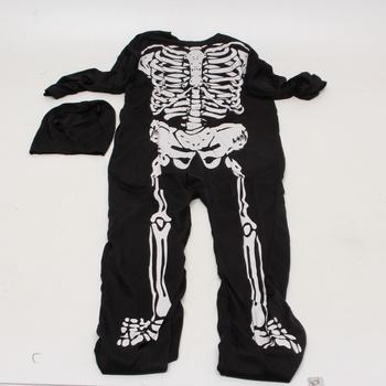 Dětský karnevalový kostým Rubie's Skeleton