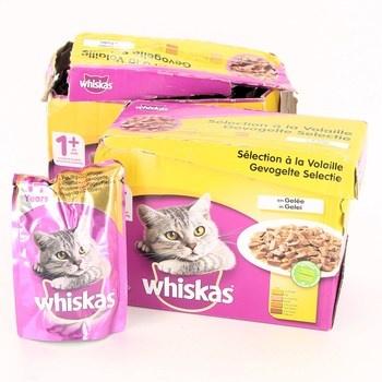 Kapsičky pro kočky Whiskas 24x100g 1+