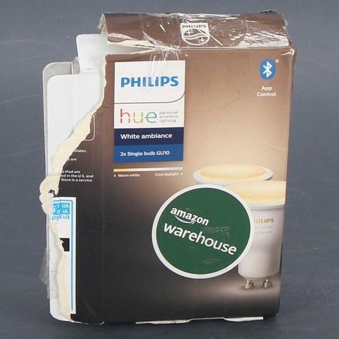 LED žárovky Philips GU10 Ambiance 5,5 W 2 ks