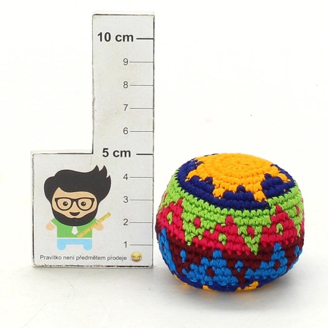 Žonglovací míček - hakisák 1ks barevný
