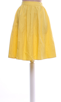 Dámská dlouhá sukně Vero Moda žlutá