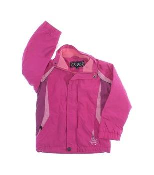 Dívčí bunda Kugo růžové barvy
