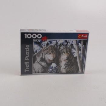 Puzzle 1000 Trefl motiv vlci