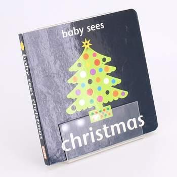 Obrázková knížka Baby sees Christmas Chez Picthall