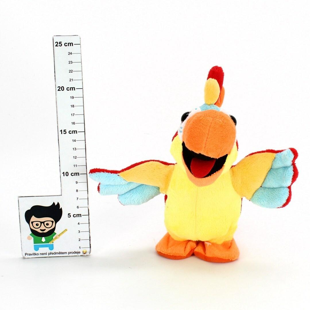 Mluvící plyšový papoušek Playtastic