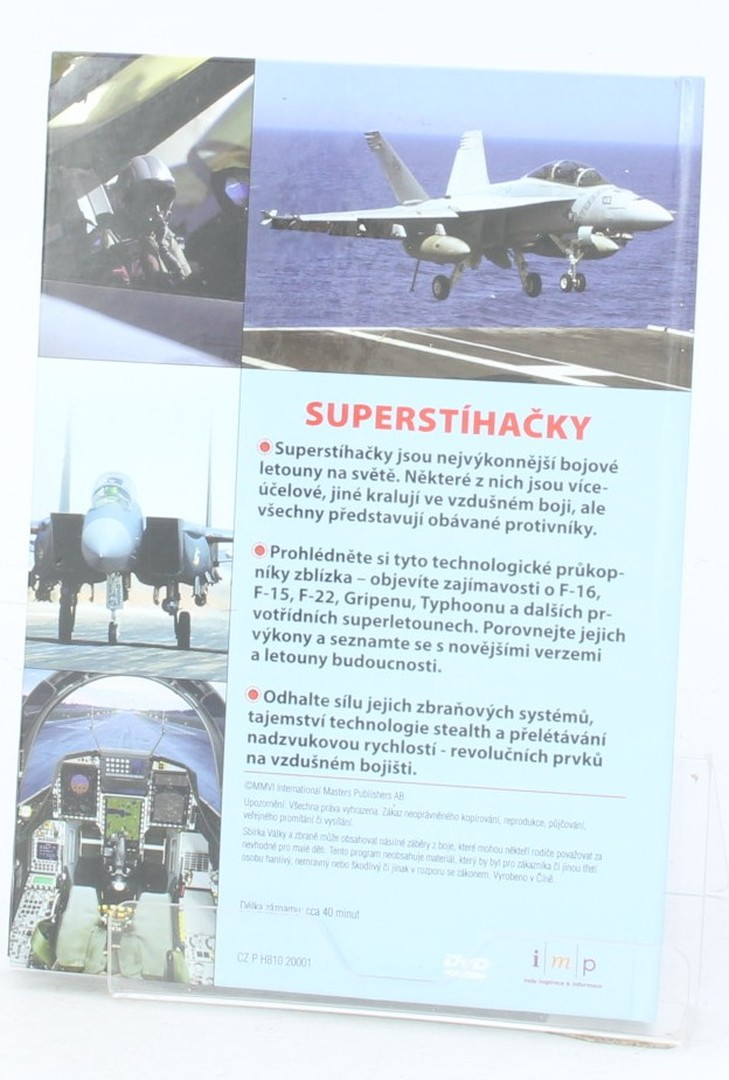 DVD film Superstíhačky