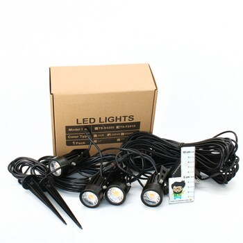Venkovní LED osvětlení Chinly