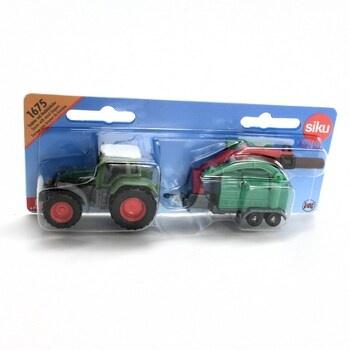Traktor se štěpkovačem Siku