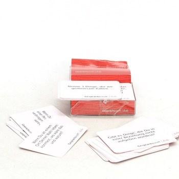 Karty konverzační hra GESPRÄCHSSTOFF Liebe