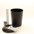 Odpadkový koš černý plastový