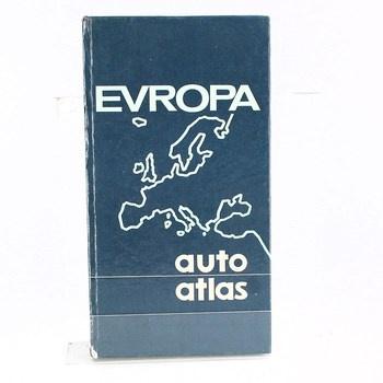 Kniha: Evropa - autoatlas