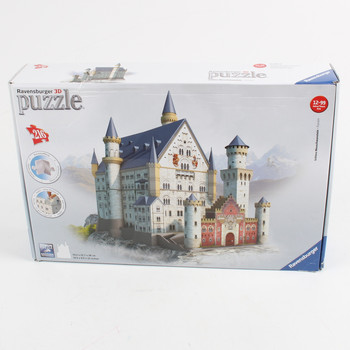 3D puzzle Ravensburger zámek Neuschwanstein