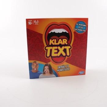 Společenská hra Hasbro C2018398 Klartext