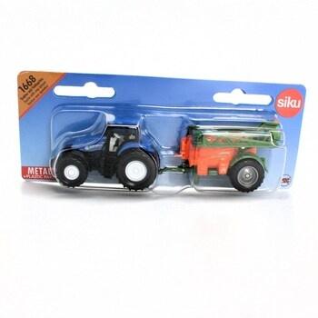 Traktor s přívěsem Siku 1:87