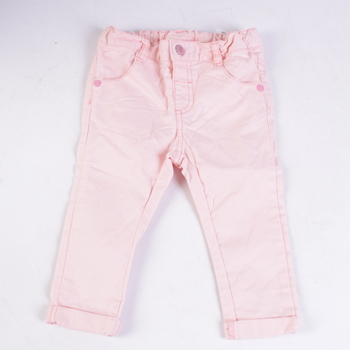 Dětské džíny Ergee růžové
