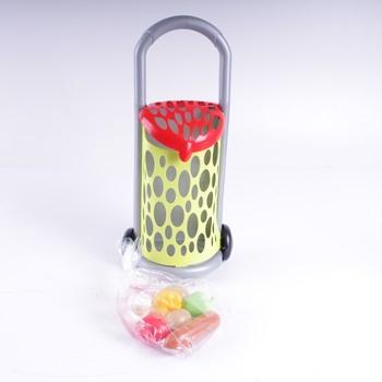Nákupní vozík ECOIFFIER s potravinami
