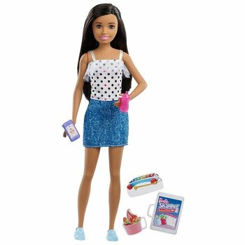 Panenka Barbie Mattel FXG92 chůva