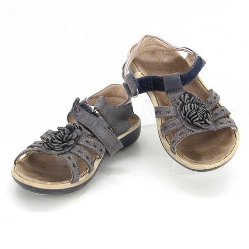 Dívčí sandálky Primigi černé - bazar  3e9964b46b