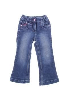 Dívčí zvonové džíny Okay modré