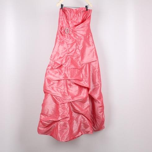 8a269d9c589 Dámské plesové šaty růžové s mašlí - bazar