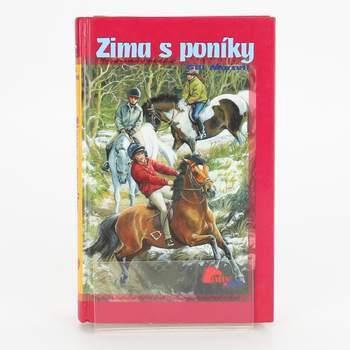 Dětská knížka Zima s poníky, Morrell