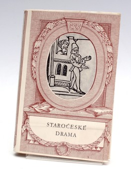 Kniha Josef Hrabák: Staročeské drama