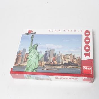 Puzzle DINO Socha Svobody 1000 dílků