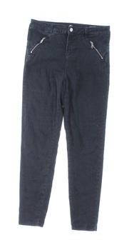 Dámské plátěné kalhoty Mohito černé