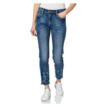 Dámské džínové kalhoty Desigual 21SWDD35