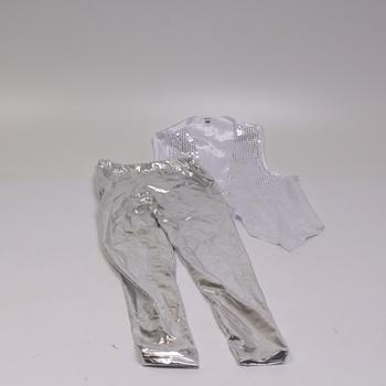 Pánský kostým Smiffys Silver