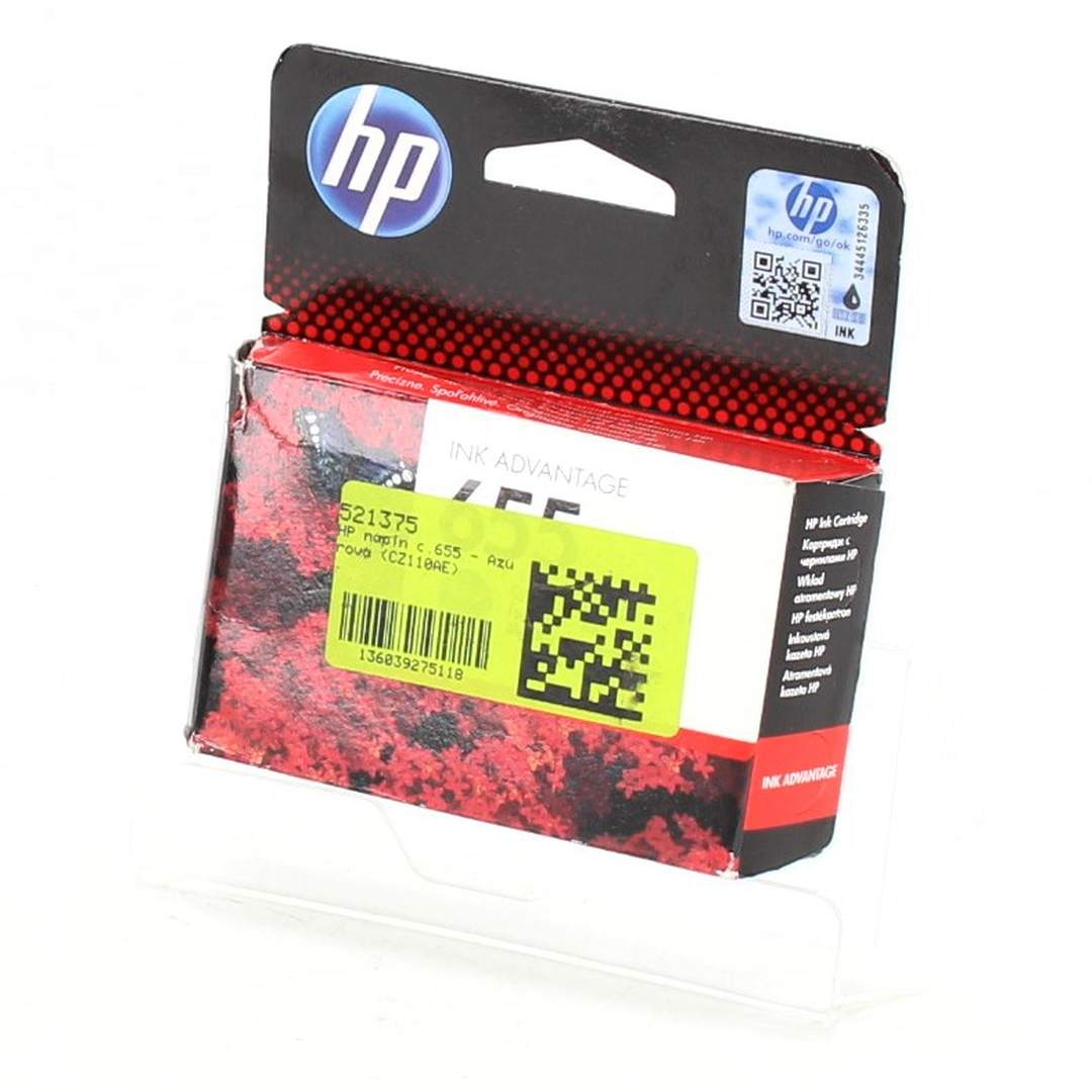 HP 655 CZ110AE azurová