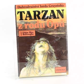 Kniha Edgar Rice Burroughs:Tarzan z rodu Opů