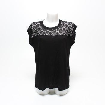 Dámské tričko Only Onlnicole černé