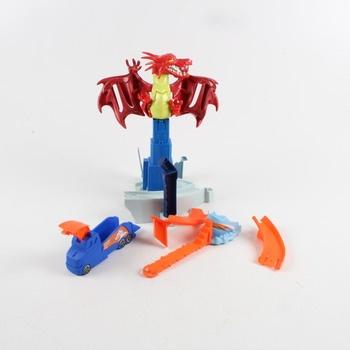 Hračka pro děti - drak na věži