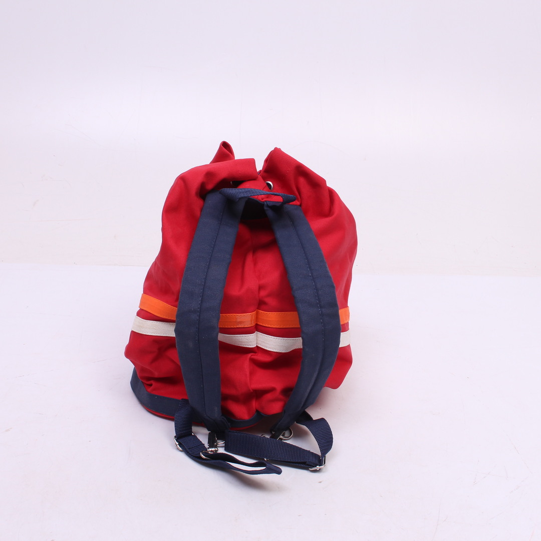 Sportovní červený batoh Autostadt - typ pytel