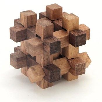 Hlavolam Warehouse ze dřeva