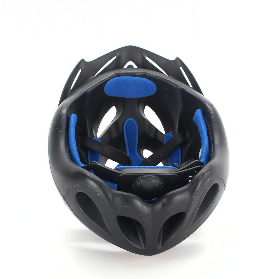 Cyklistická helma Würth 393 černočervená