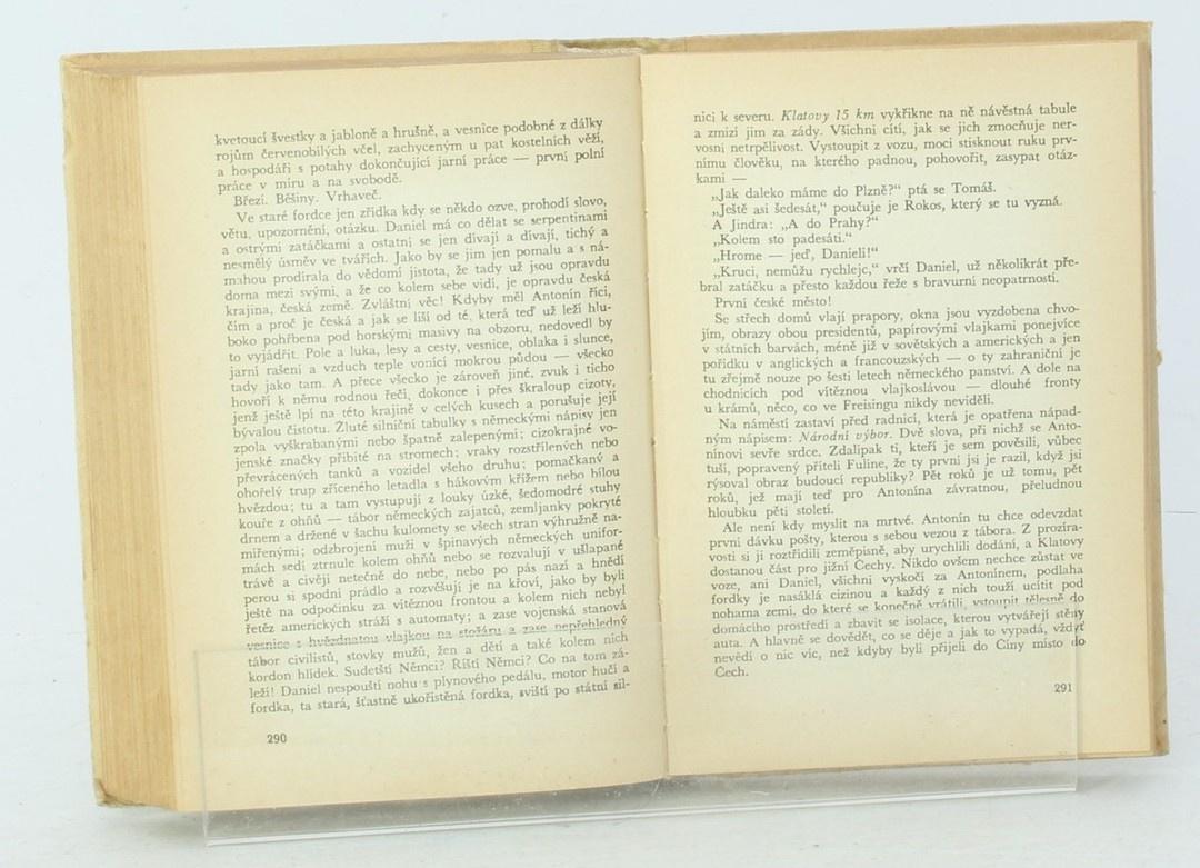 Karel Josef Beneš: Ohnivé písmo