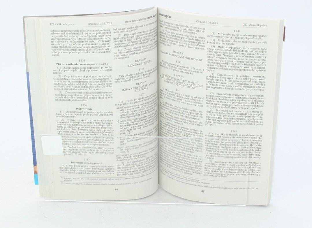 Úplné Znění: Zákoník Práce