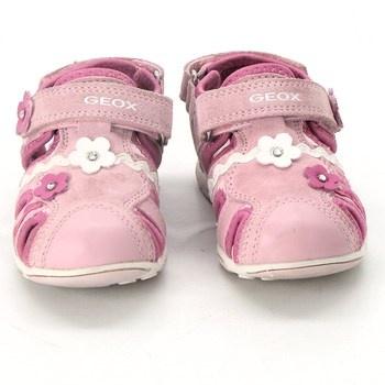 Dívčí sandálky Geox růžové velikost 24