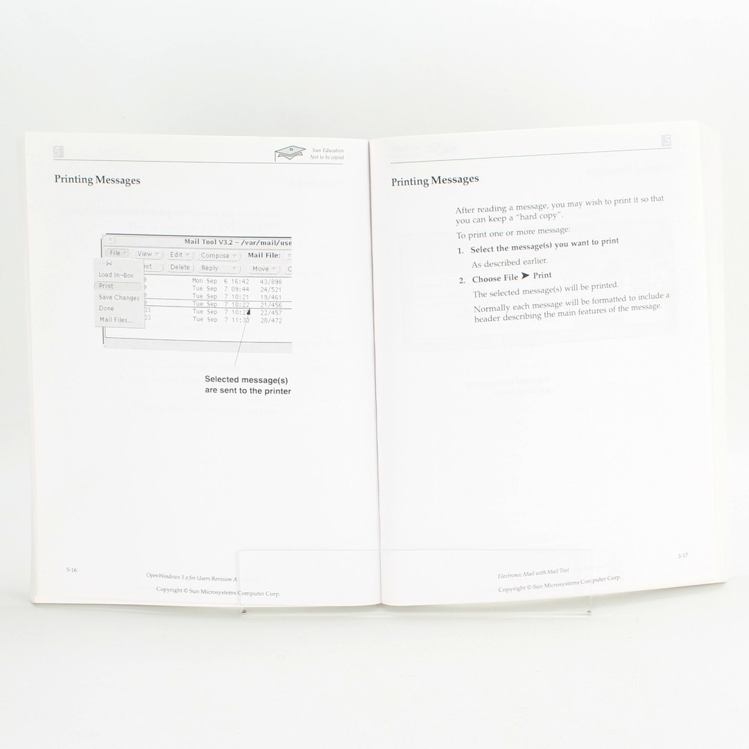 Počítačová literatura OpenWindows 3.x for Users