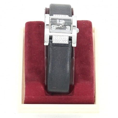Dámské hodinky Legend černé s kamínky - bazar  83e77e00107