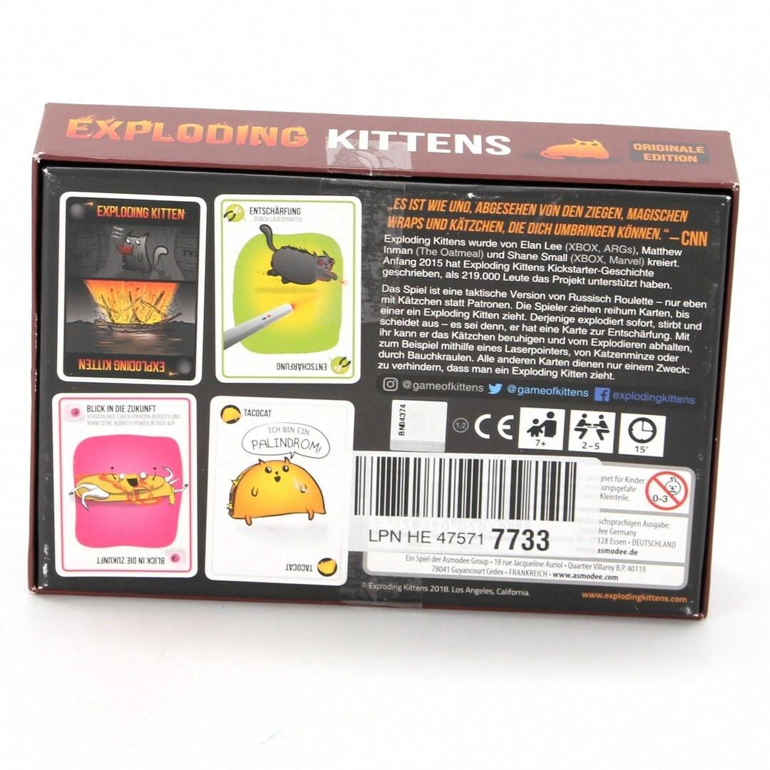 Dětská hra Asmodee Exploding Kittens