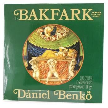 Gramofonová deska Bakfark Daniel Benko