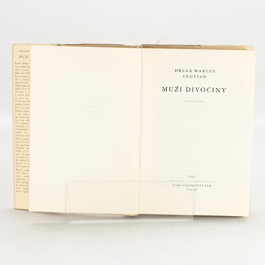 Kniha Helge M. Ingstad: Muži divočiny