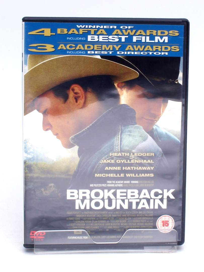 DVD Focus Brokeback Mountain
