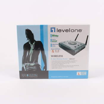 WiFi router Level One WBR-6011