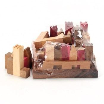 Dřevěné kostky LeDelirant